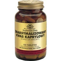 SOLGAR Kwas Kaprylowy zmaksymalizowany 100tabl., produkt z kategorii- Witaminy i minerały