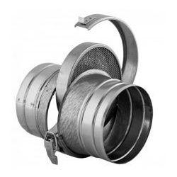 Filtr powietrza okrągły kanałowy DARCO FOK 125 / OC ŚREDNICA 125 MM