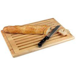 Deska drewniana do krojenia chleba 530x325 mm | TOMGAST, TF-95