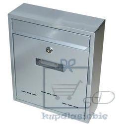 Skrzynka pocztowa jak mały szary 310x260x90mm (8595627406271)