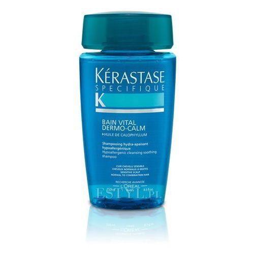 Kerastase Dermo-Calm Vital - Kąpiel witalizująca i kojąca do włosów wrażliwych 250 ml (pielęgnacja włosów)