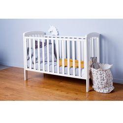 łóżeczko nicole białe marki Troll nursery