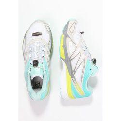 Salomon XSCREAM 3D Obuwie do biegania Szlak white/bubble blue/gecko green - produkt z kategorii- obuwie do bie