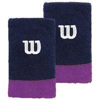 Wilson Extra Wide Wristband Granatowy/Fioletowy