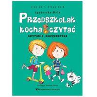 Przedszkolak kocha czytać Czytanie sekwencyjne z.ćwiczeń, oprawa broszurowa