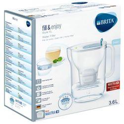 Brita 3,6l style xl dzbanek filtrujący błękitny + 1 wkład filtrujący maxtra+