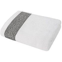 Ręcznik indra marki Black red white