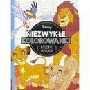 Niezwykłe kolorowanki Disney Classic, Koloruj według wzoru - Opracowanie zbiorowe (9788325325428)