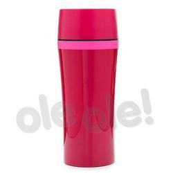 Tefal  k3072114 travel mug fun 0,36l (różowy) (4168430001618)