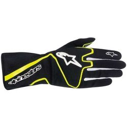 Rękawice kartingowe  tech 1-k race - czarno / żółty wyprodukowany przez Alpinestars
