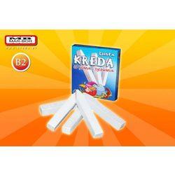 Kreda szkolna MarBor B2/6szt. biała - z kategorii- pozostałe artykuły szkolne i plastyczne