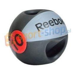 Piłka lekarska z podwójnym uchwytem 10kg Reebok