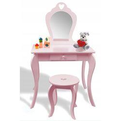Toaletka kosmetyczna dla dziewczynki różowa