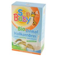 4 mc kaszka orkiszowa bio 250 g - sun baby marki Sun baby (baby sun) - (dla niemowląt)