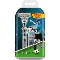 Gillette  maszynka mach3 turbo aloe + 4 wkłady