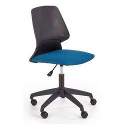 Fotel obrotowy do nauki tytan - czarny + niebieski marki Producent: elior