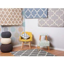 Dywan jasnoniebieski - 160x230 cm - handmade - bawełna - YALOVA (7105277085835)
