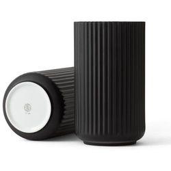 Wazon porcelanowy 31 cm, czarny - Lyngby Porcelain (5711507211046)