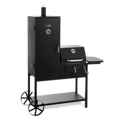 Klarstein Fleischbrocken grill na węgiel drzewny wędzarnia komora wędzarnicza grill-BBQ czarny