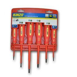 Kinzo Zestaw śrubokrętów (6 sztuk)