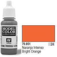 VALLEJO Farba Nr24 Bright Orange 17ml