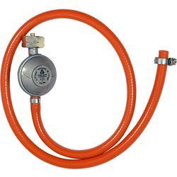 Reduktor gazowy z wężem 1,0m do podłączenia butli gazowej z grillem, kuchenką, piecykiem itp. 99670 - ZYSKAJ RABAT 30 ZŁ (5906083039225)