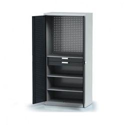 Szafa warsztatowa - 3 półki, 2 szuflady