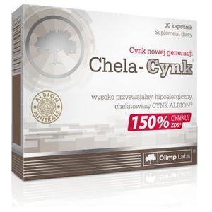 Olimp Chela Cynk 15mg 30 kaps. (5901330003905)