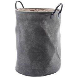 Kosz na pranie Aquanova Olav silver grey 55 cm