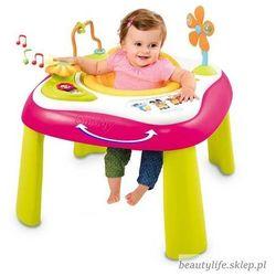 cotoons interaktywny stolik siedzonko różowy marki Smoby