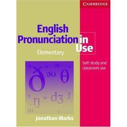English Pronunciation In Use Elementary Książka Plus 5 Płyt Audio CD, pozycja wydawnicza