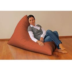 Dekoria Pufa-leżanka, rudy szenil, 85x140x100 cm, Living