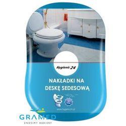 Higieniczne nakładki na deskę sedesową - BOX- 10szt. (pieluchomajtki)