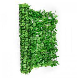 Blumfeldt fency bright ivy osłona balkonowaosłona przed wiatrem 300x100cm bluszcz jasnozielony (4260435913450)