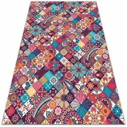 Dywanomat.pl Modny uniwersalny dywan winylowy modny uniwersalny dywan winylowy kolorowa mozaika