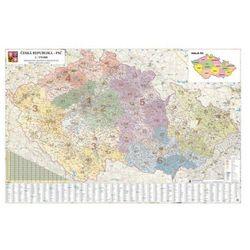 Mapa kodów pocztowych Czech (mapa szkolna)