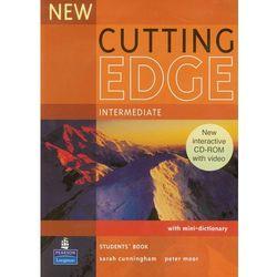 New Cutting Edge Intermediate Student's Book (podręcznik) plus CD-ROM, pozycja wydawnicza