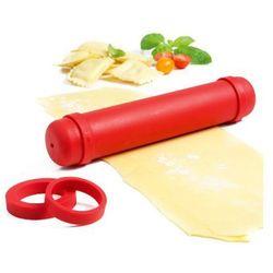 Wałek do ciasta regulowany Mastrad 23 cm czerwony