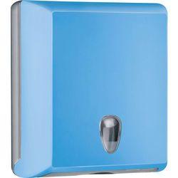 Pojemnik na ręczniki papierowe składane M Marplast plastik niebieski - sprawdź w wybranym sklepie