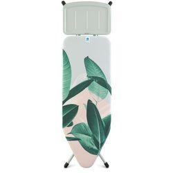 Deska do prasowania tropical leaves z podstawką na generator pary 124x45 cm marki Brabantia