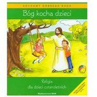 Bóg kocha dzieci + cd religia dla dzieci czteroletnich  marki Kubik władysław