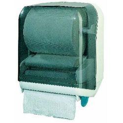 Pojemnik na ręczniki papierowe w roli z lewarkiem Sanitario plastik kolorowy z kategorii Pozostałe akcesoria łazienkowe