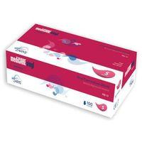 Rękawiczki winylowe pudrowane mediCARE 100 szt - L z kategorii Urządzenia i akcesoria kosmetyczne