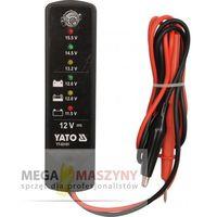 YATO Tester do akumulatora i alternatora 12 V - sprawdź w wybranym sklepie