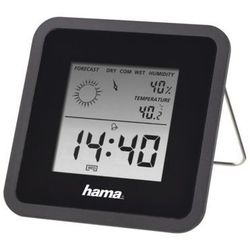 Stacja pogody th50 czarny marki Hama