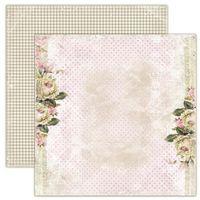 Ozdobny papier dom róż - herbaciane róże - 07 marki Magiczna kartka