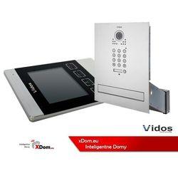 Vidos Zestaw wideodomofonu skrzynka na listy z szyfratorem s561d-skm m904s