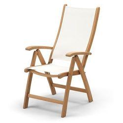 Krzesło składane columbus white marki Skagerak