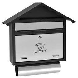 Skrzynka pocztowa na listy LUX-8 z tubą na prasę, LUX8