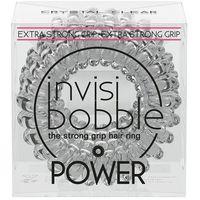 INVISIBOBBLE POWER Crystal clear - przezroczyste gumki do włosów 3 pack - produkt dostępny w multidrogeria.